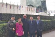 WDEO代表团应邀出席联合国UNDP会议